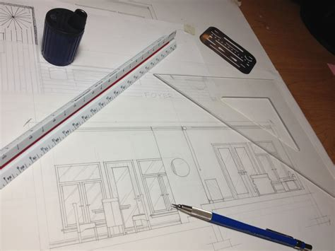 quick tips  drafting elevations  hand drafting
