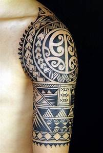 40 Cool Polynesian Tattoo Designs For Men - Bored Art
