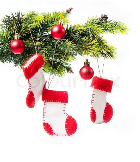 decorated christmas tree decorated  stock photo
