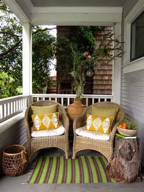 Outdoor Decorating Ideas Front Porch by 39 Cool Small Front Porch Design Ideas Digsdigs