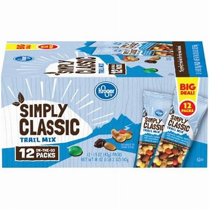 Kroger Mix Trail Simply Classic Snack Packs