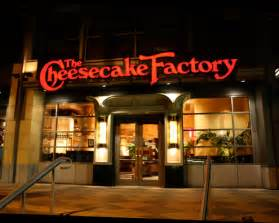 Cheesecakes Factory Menu Photos