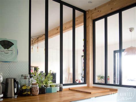 DIY - Une verriu00e8re style atelier pas chu00e8re pour su00e9parer cuisine et salon