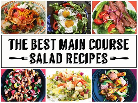 The Best Main Course Salad Recipes
