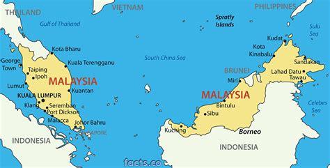 malaysia flora karte