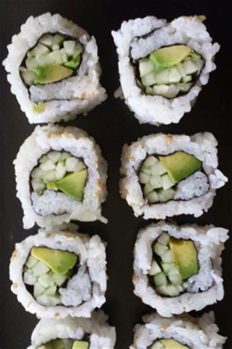 barbara adams  wonderful avocado cucumber sushi
