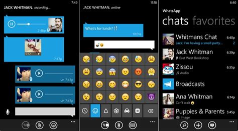 whatsapp messenger 2 11 59 0 for windows phone softpedia