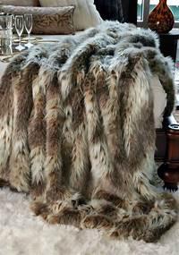 faux fur throw FRESH + TWIST : Decorating with Sheepskin & Faux Fur ...