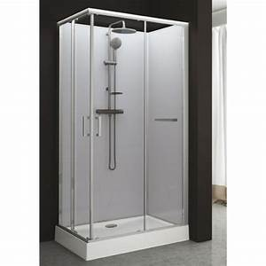cabine de douche rectangulaire 80 x 120 cm portes With porte coulissante douche 80