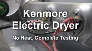 Kenmore Dryer Electrical Connection