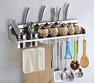 wall mounted kitchen organizer multipurpose kitchen utensils holder 6950