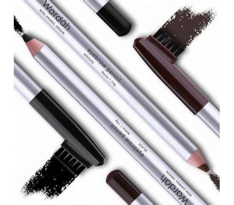 wardah eye brow pencil black halal cosmetics singapore wardah eyebrow pencil brown