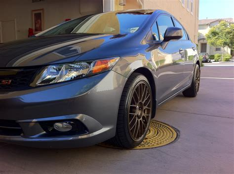 2012 honda civic si sedan pmm on enkei rpm2