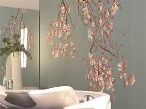 Tapeten Badezimmer Beispiele : kirschzweige asiatisch badezimmer other metro von gaedke tapeten ~ Markanthonyermac.com Haus und Dekorationen
