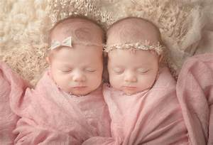 identical twin girls! 6 week old sisters {charlotte ...
