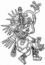Aztec Coloring Pages Empire Aztecs Ottoman Printable Popular Getcolorings Template Coloringhome sketch template