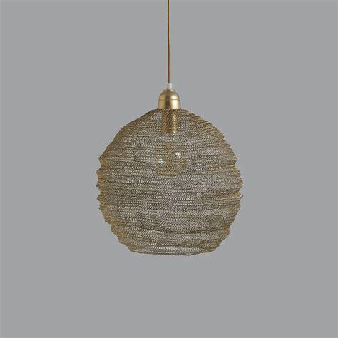 wire pendant light chagne