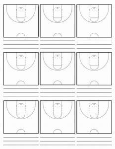 46 Basketball Play Diagram Sheets Xo1j2