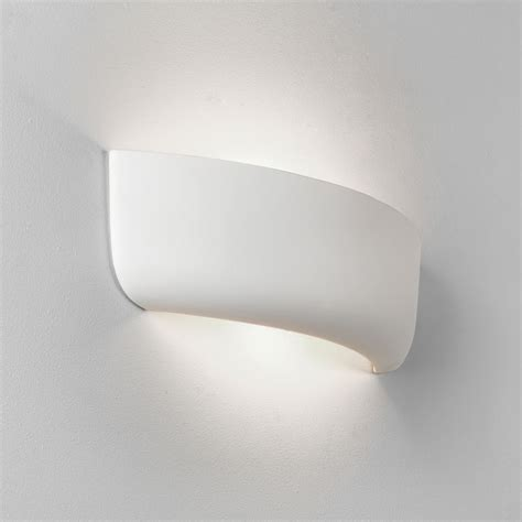 astro lighting 7967 gosford 460 ceramic wall light in white