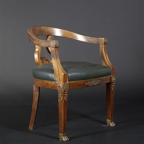 bureau de style fauteuil de bureau de style empire 2013030917 expertissim
