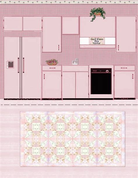miniature dollhouse kitchen furniture paper crafts playsets dwellings furniture ammey 39 s