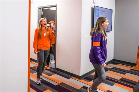 softball locker room reveal clemson tigers official