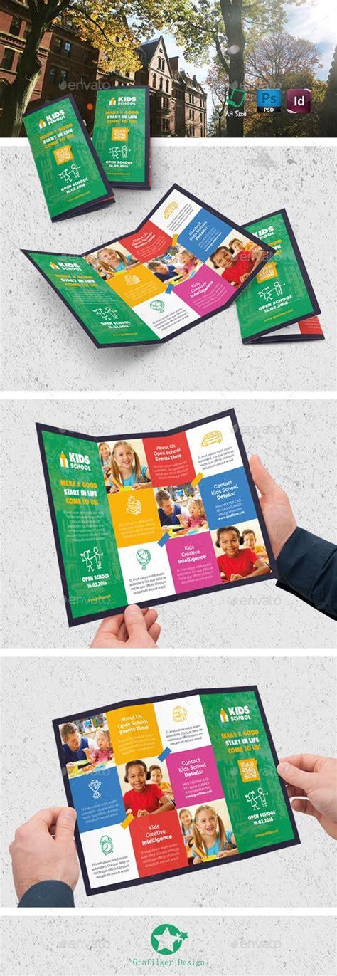 Tri Fold School Brochure Template by School Tri Fold Templates Print Templates Tri Fold
