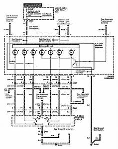 Acura Cl  1997  - Wiring Diagrams