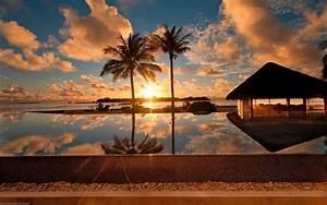Beautiful Nature Sunset HD Wallpaper | Download HD ...