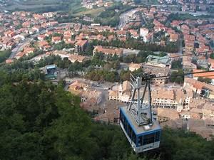 Funicular Toward San Marino