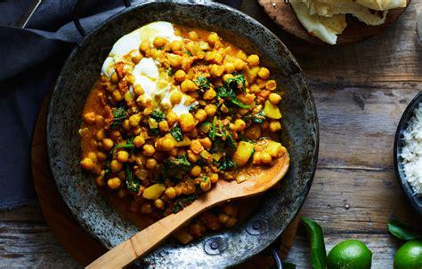 turmeric potato  chickpea curry recipe recipe home beautiful magazine australia