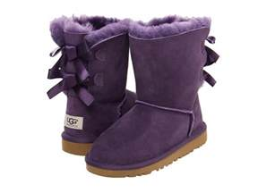 womens ugg boots with bows on the back ugg bailey bow kid big kid petunia shipped free at zappos