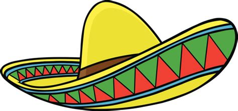 Sombrero Clip Sombrero Mexicano Clipart Best