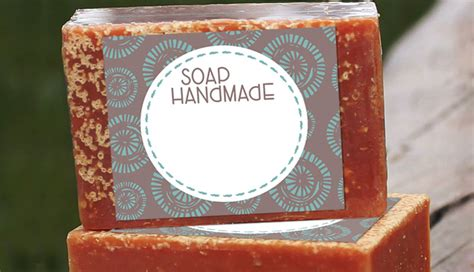 handmade soap label printables customlabelsnet