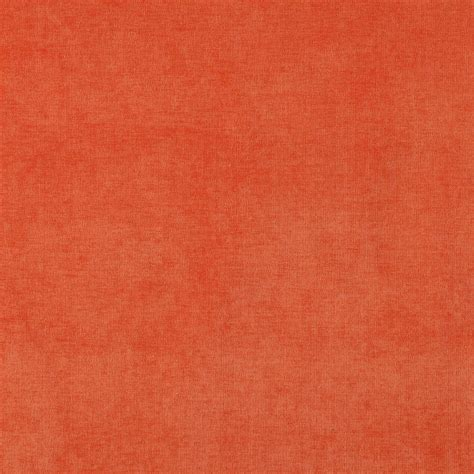 Upholstery Fabric Orange by Orange Solid Woven Velvet Upholstery Fabric By The Yard