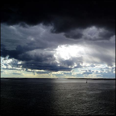 Small Boat On The Ocean by Small Boat Big Ocean By Herbstkind On Deviantart