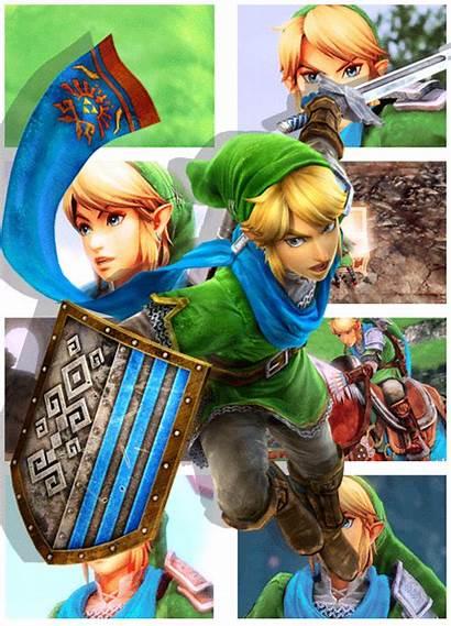 Zelda Link Legend Hyrule Warriors Warrior Princess