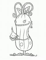 Pickle Coloring Template sketch template