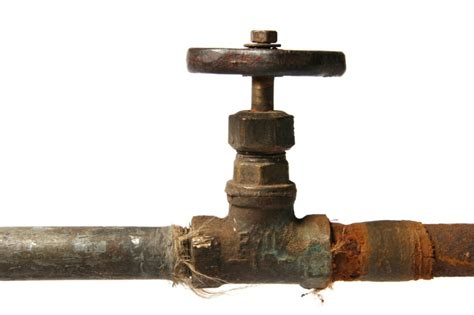 Big Boat In Rust by 187 Corroded Iron Pipe The Clean Well Water Report
