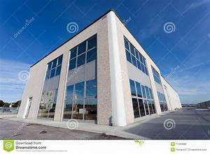 Outside View Of Industrial Hall Royalty Free Stock Images ...