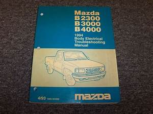1994 Mazda B2300 B3000 B4000 Truck Body Electrical Wiring