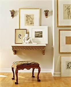 Maler Ideen Wohnzimmer : wanddekoration ideen mit bildern und familienfotos ~ Markanthonyermac.com Haus und Dekorationen