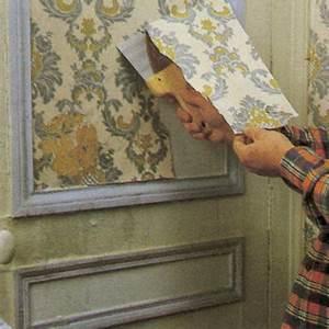Décollage Papier Peint : comment d coller un papier peint du mur bricobistro ~ Dallasstarsshop.com Idées de Décoration