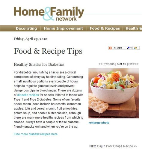 articles cuisine healthy snacks recipes for diabetics
