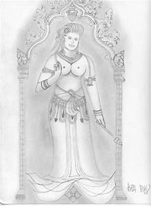 Top Khmer Apsara Dance Drawings Images for Pinterest Tattoos