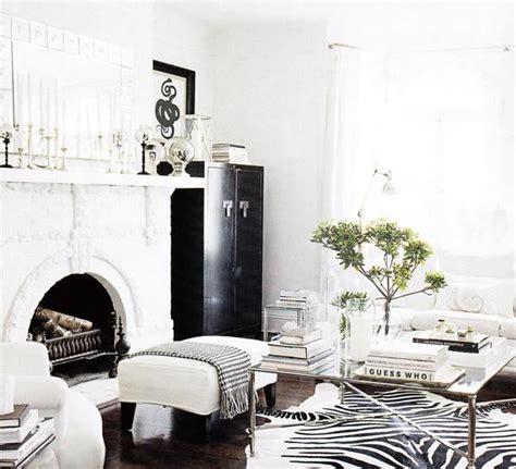 black and white decor black and white living room transitional living room elle decor