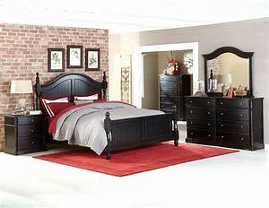 Homelegance 2268bk carollen distressed black bedroom set for Home elegance furniture warehouse