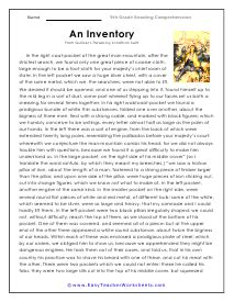 Worksheets are reading comprehension practice test, introduction, nonfiction reading. Grade 9 Reading Comprehension Worksheets | Reading comprehension, Reading comprehension ...