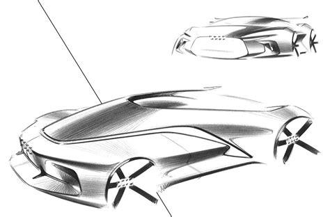 Audi Concept Design Sketch By Gaurang Nagre  Car Body Design