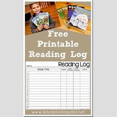 Free Reading Log Printables  Free Homeschool Deals